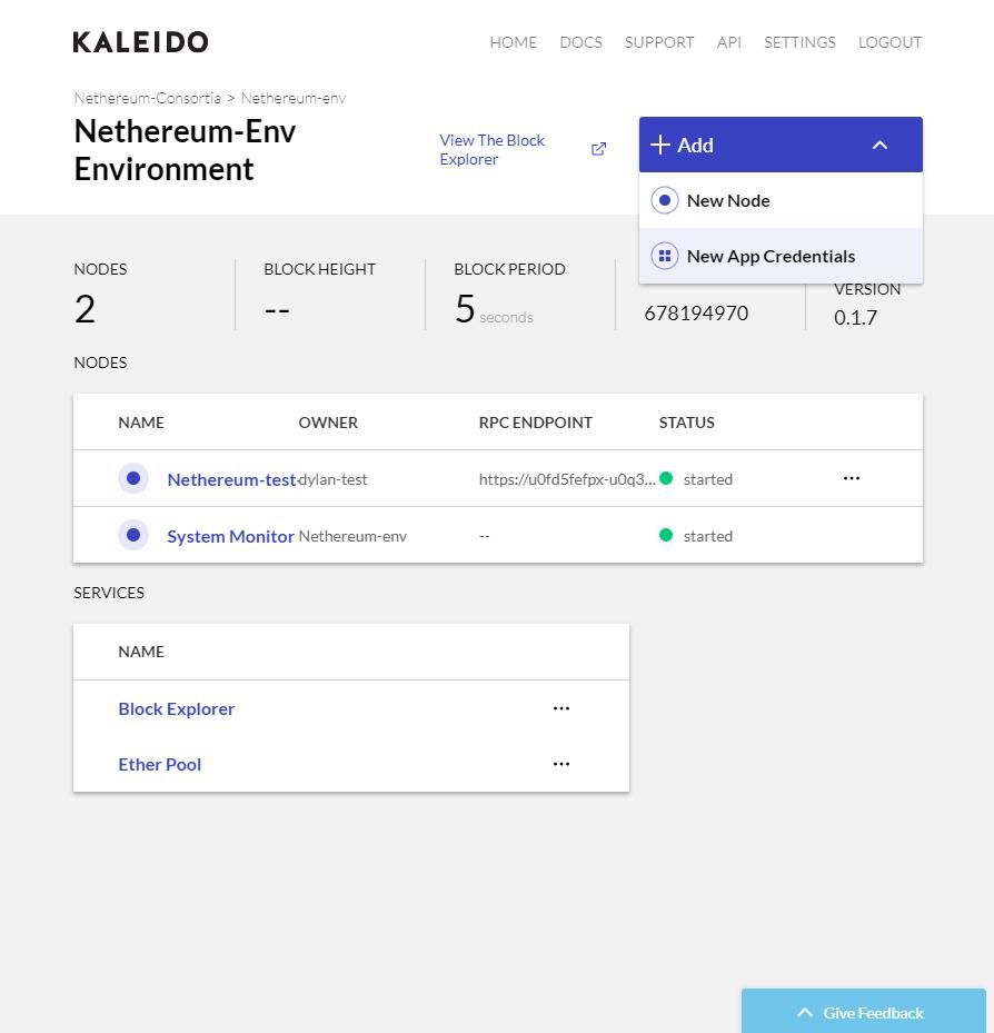 Kaleido - Nethereum Documentation